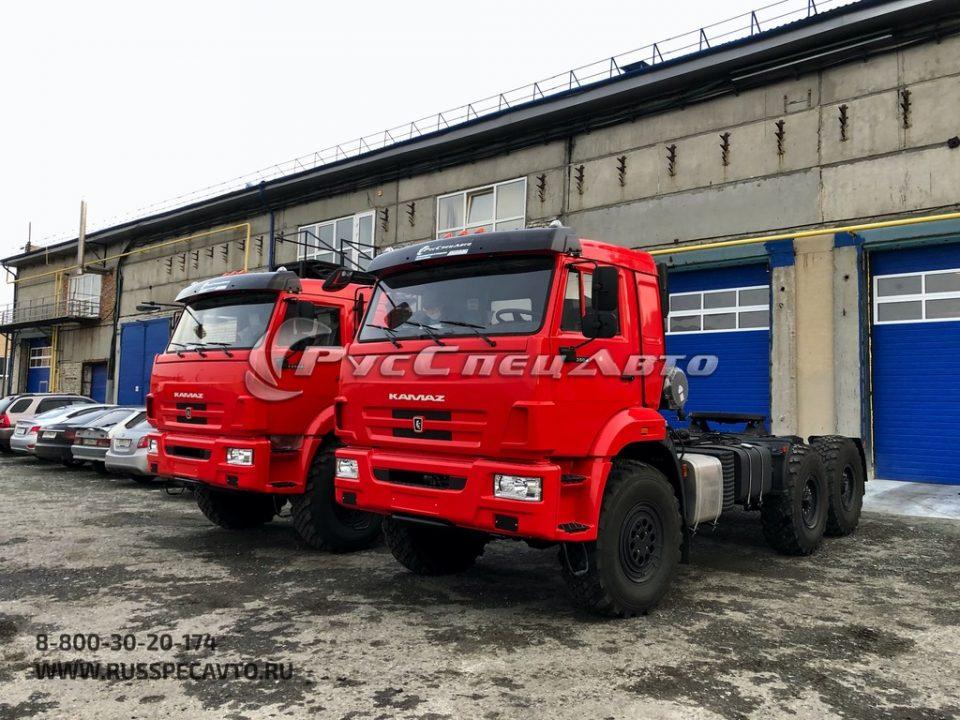 Седельный тягач КамАЗ 53504