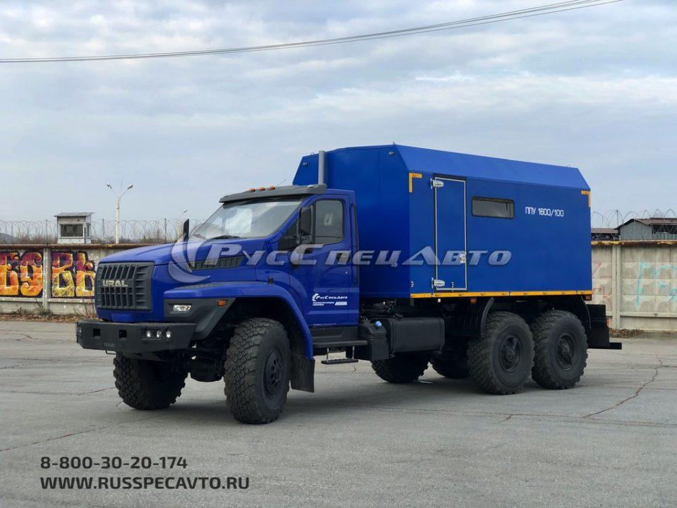 ППУА 1600 шасси Урал 4320 NEXT