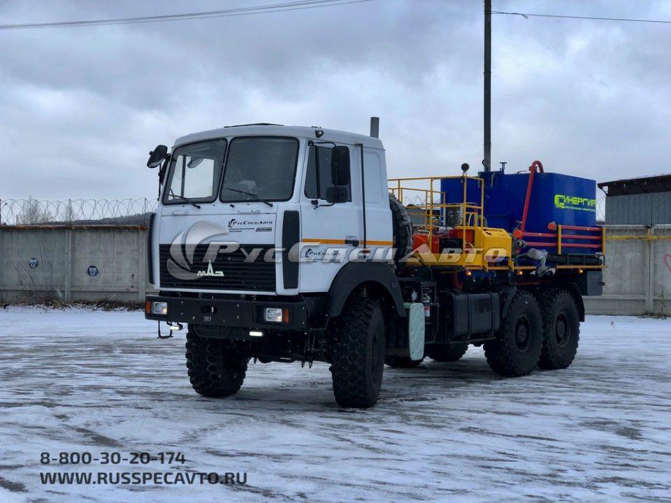 Цементировочный агрегат на базе МАЗ 6317