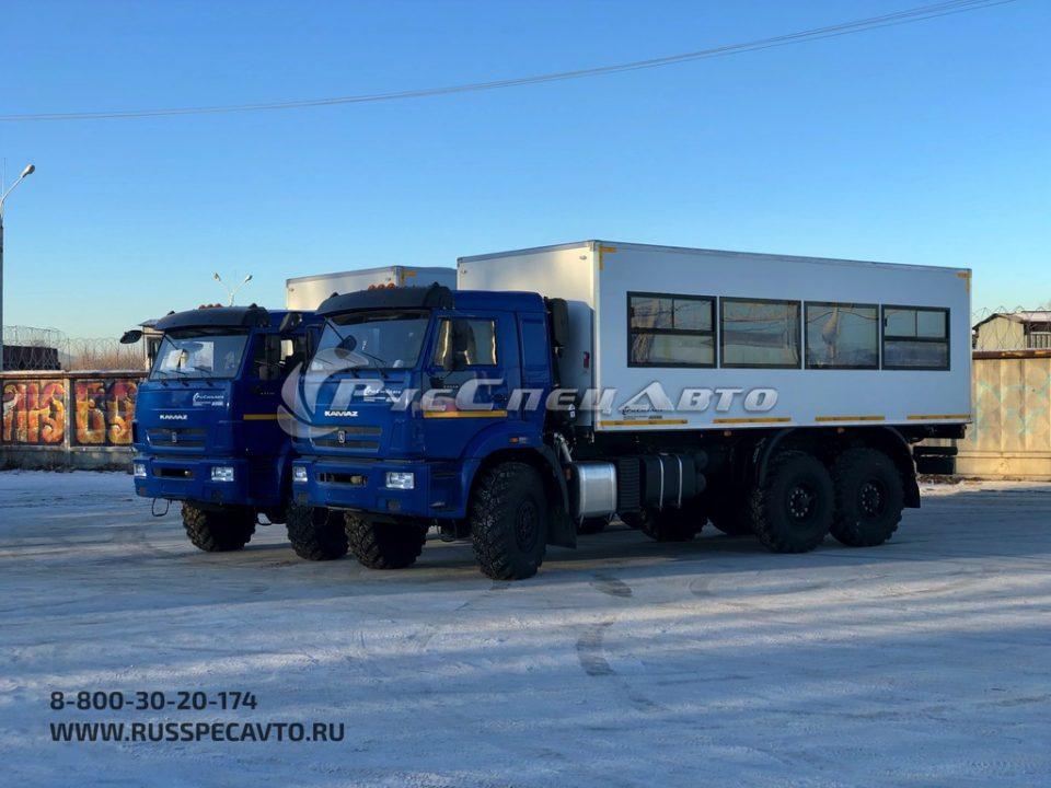 Пассажирский КамАЗ 43118 (6х6) вместимость 28 мест