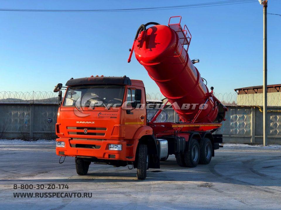 КамАЗ 65115 МВС 12 м3