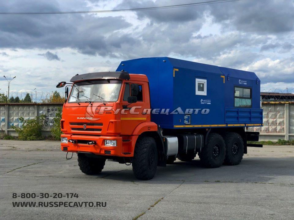 ПАРМ с модулем Epiroc — КамАЗ 43118
