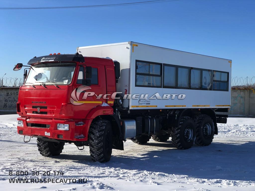 Вахтовка КамАЗ 43118 пассажирский (28 мест)