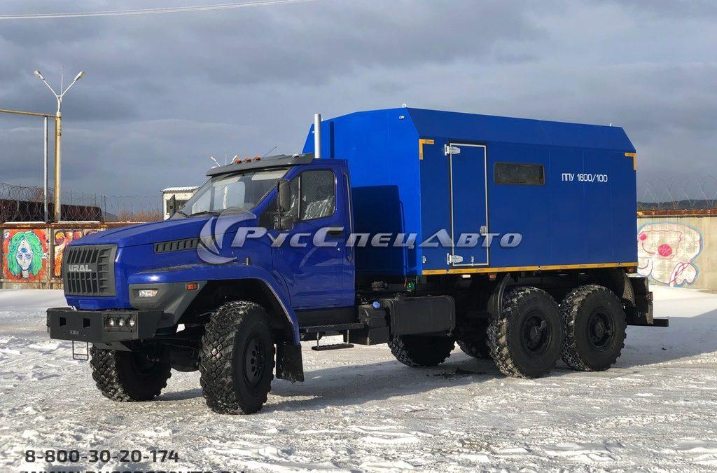ППУА 1600/100 на базе Урал NEXT