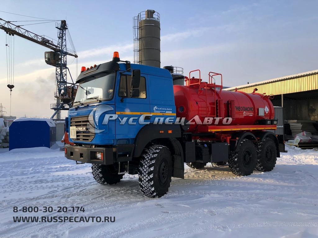 АКН (односекционный с открывающимся днищем) Урал 5557 бескапотный