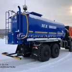 АЦВ (автоцистерна для тех.воды) 20 куб.м. на базе КамАЗ 65222